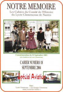 Notre Mémoire 2004 N°18