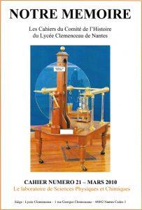 Notre Mémoire Spécial instruments de physique