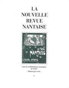 NRN La Nouvelle Revue Nantaise