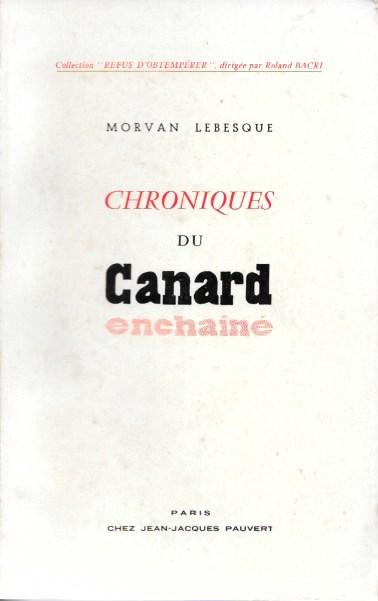 Lebesque Le Canard