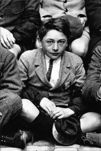 Louis Poirier en classe de 3e en 1924-1925 Tourte et Petitin Coll. Pierre Sagaut