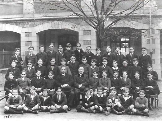 Louis Poirier en classe de 5e 1922-1923 Tourte et Petitin Coll Pierre Sagaut