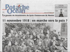 Potache Océan La Une du 23 octobre 2008