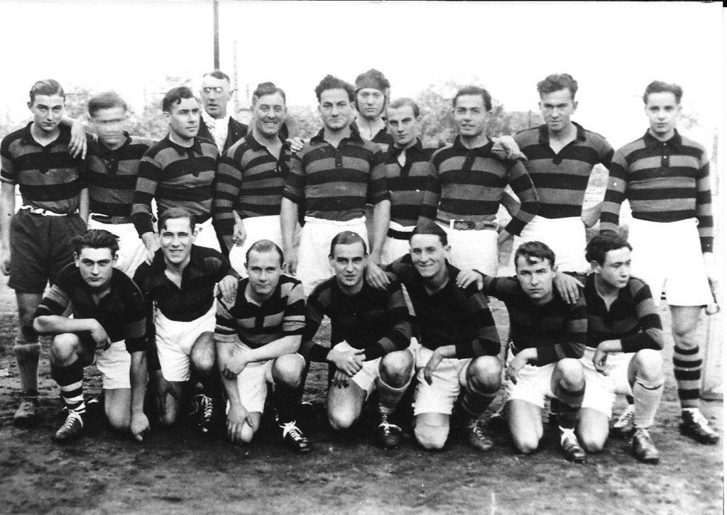 1932-1933 Equipe de rugby du lycée