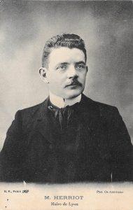 Edouard Herriot maire de Lyon