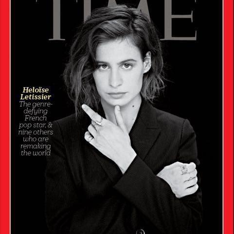 Quand Héloïse fait la Une du magazine américain «Time»