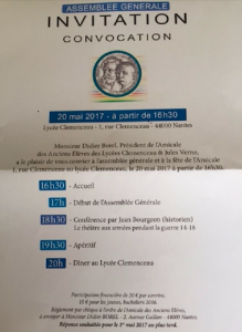 Amicale AG 2017