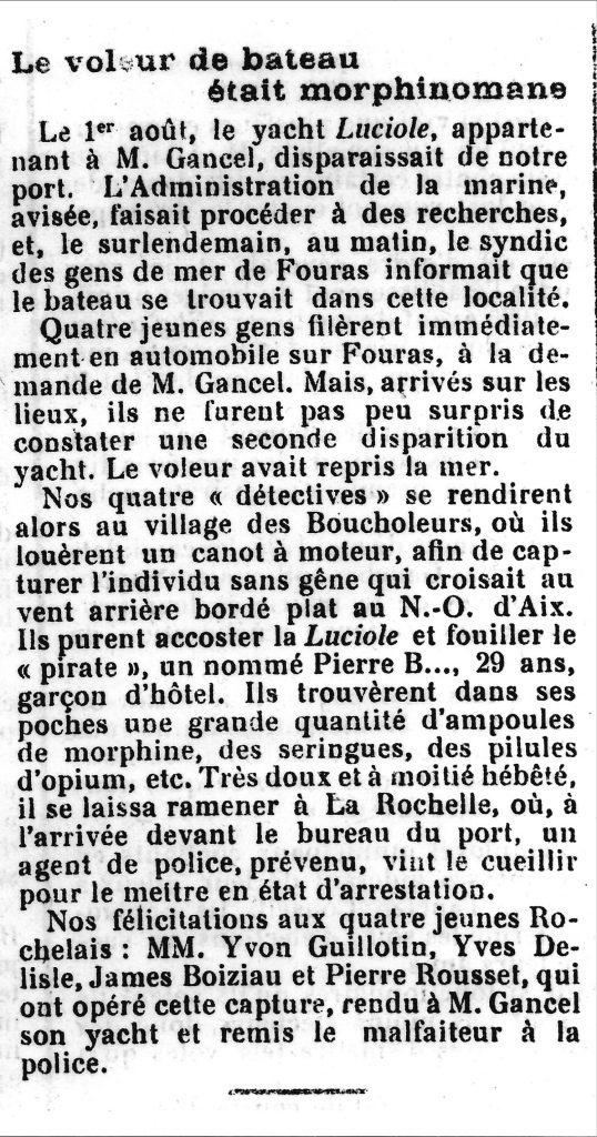 Bisserié La Rochelle