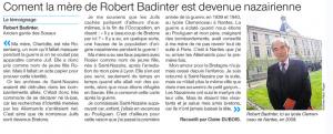 Robert Badinter mère nazairienne