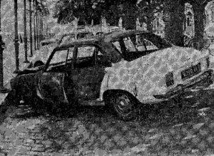 photographie voiture proviseur incendiée 2 sur 2