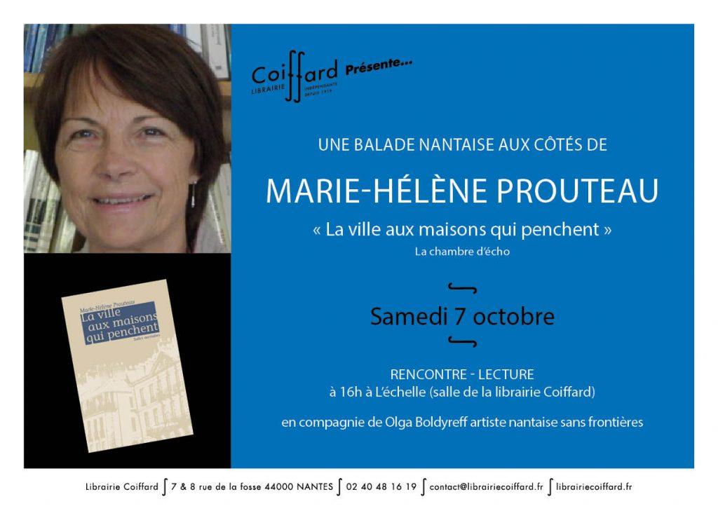 Flyer Marie-Hélène Prouteau