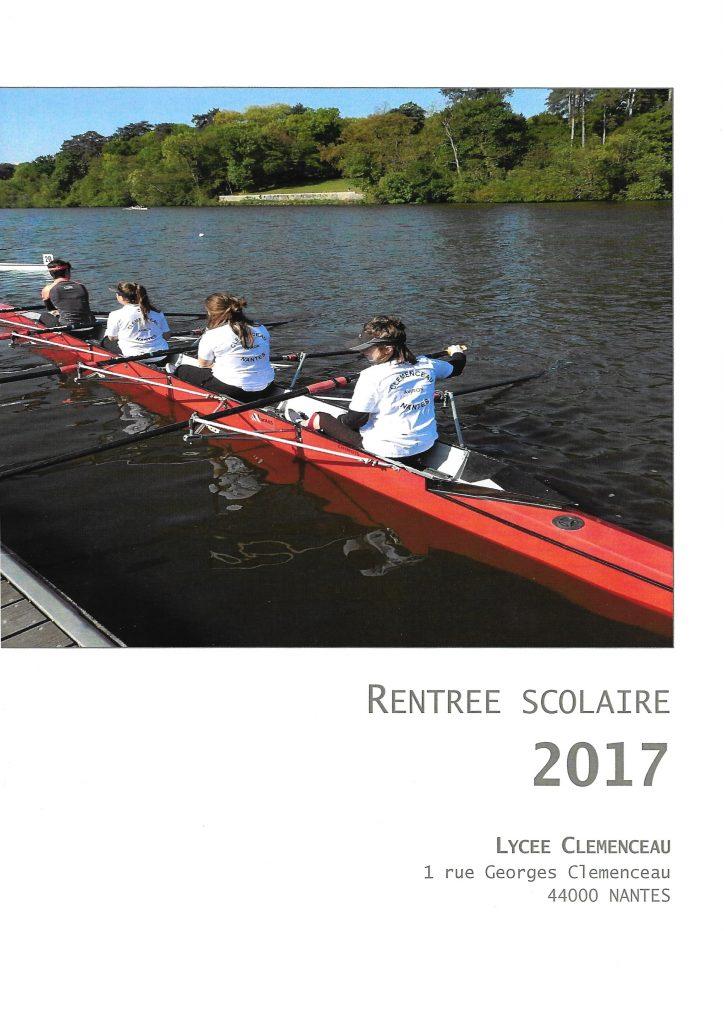 2017 Prérentrée