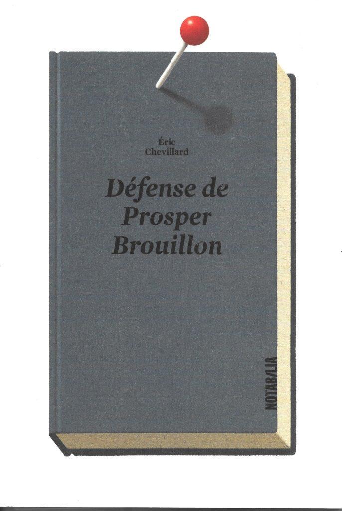 Chevillard Prosper Brouillon