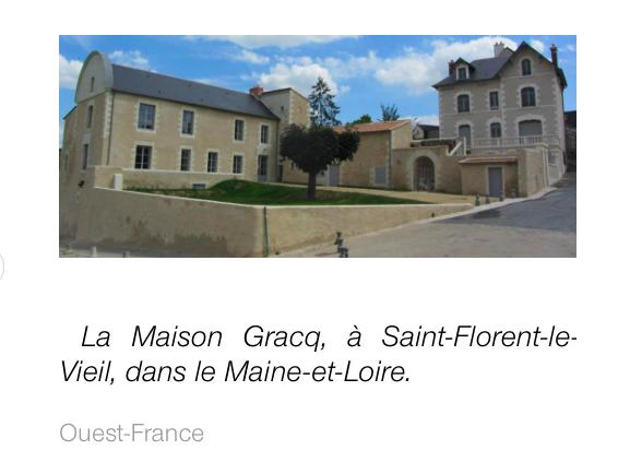 La Maison Gracq de St Florent