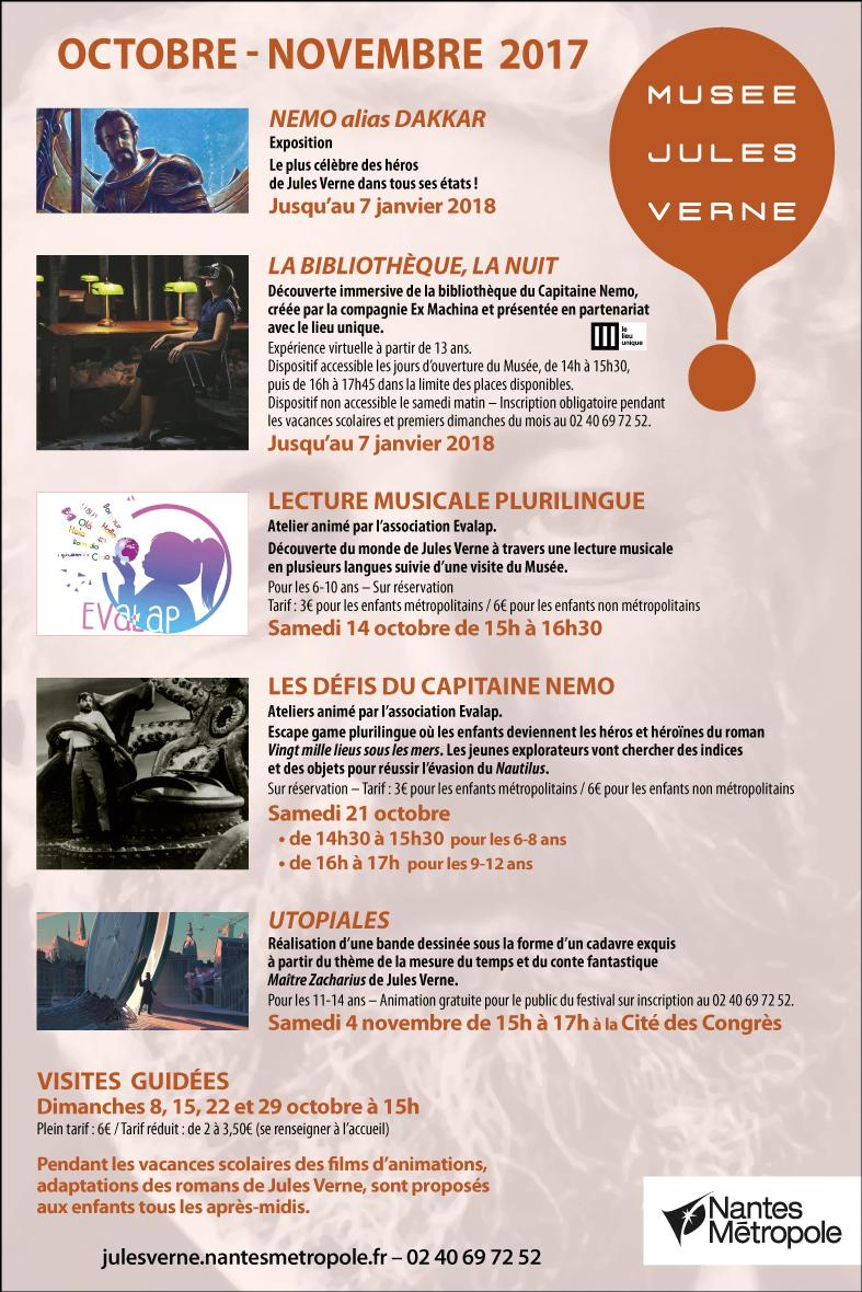 Musée Jules Verne Novembre