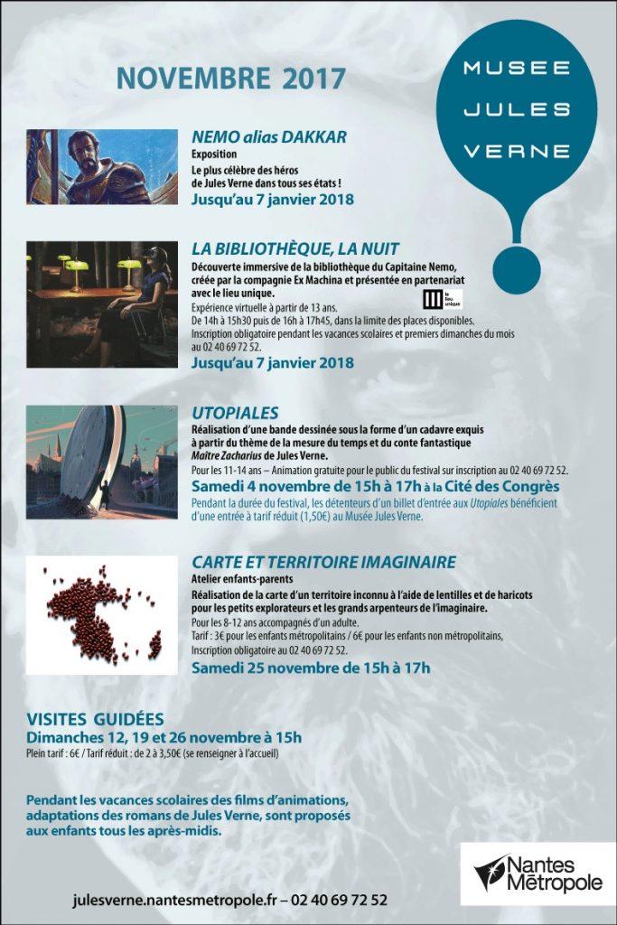 Musée Jules Verne novembre 2017