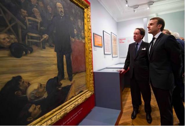 Macron au Musée Clemenceau nov 2017