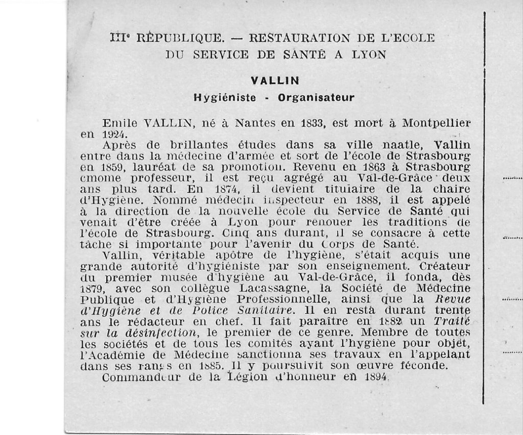 Vallin Emile AE lycée bio