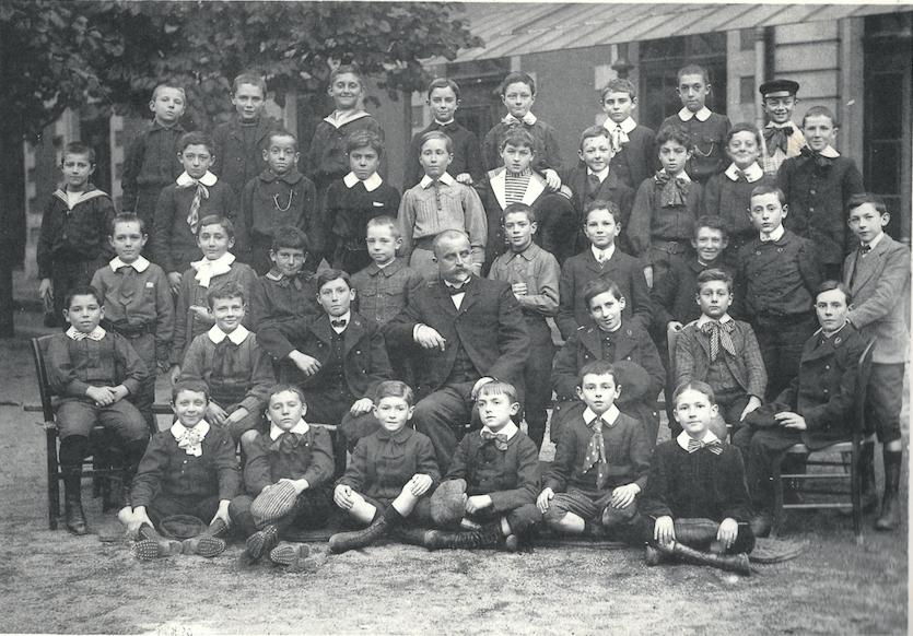 1908-1909 classe de septième