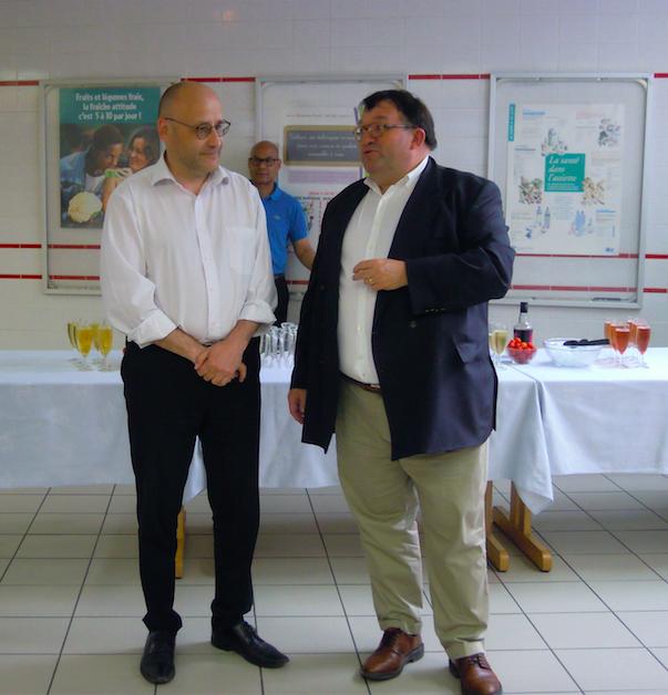 Hervé Douaglin et Didier Borel