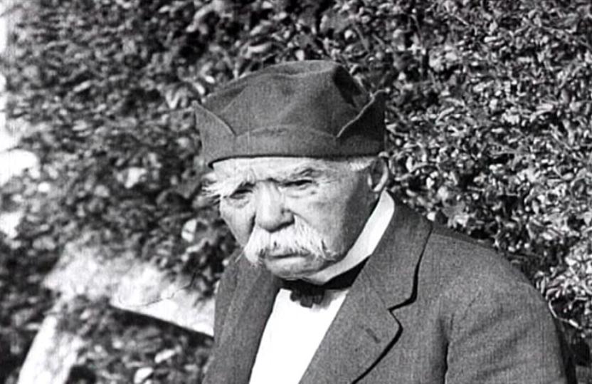 Clemenceau dans son jardin (film LCP)