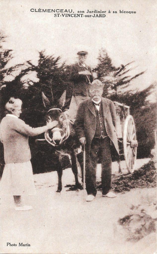 Clemenceau et son jardinier