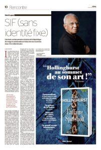 HENRI LOPES Le Monde des livres 19-10-18