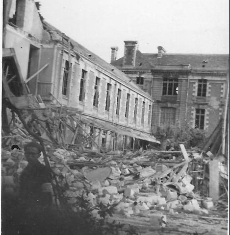 Le lycée bombardé le 23 septembre 1943