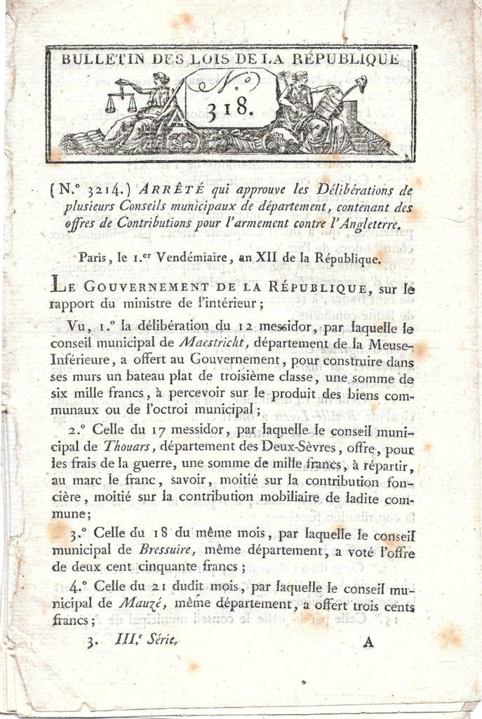Acte fondateur Jacques Vaché