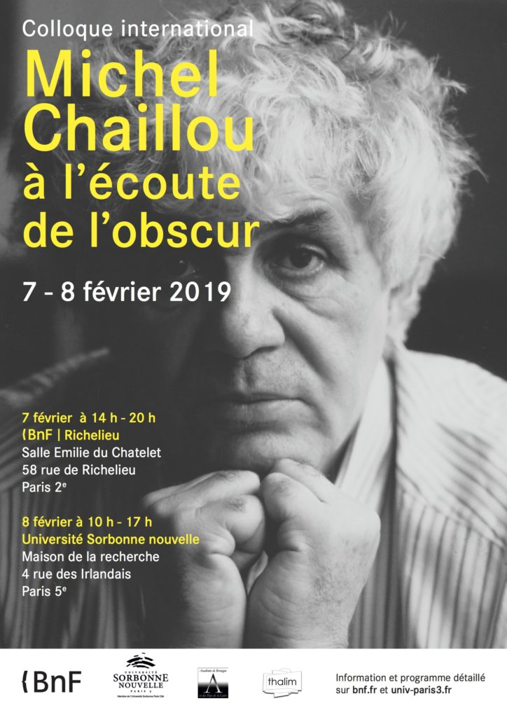 Colloque CHAILLOU Fev 2019